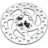 myBESTscooter - Disco del Freno di Ricambio 120 mm per Monopattino Elettrico Xiaomi M365 PRO