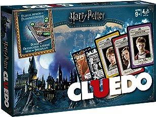 Winning Moves Cluedo - die Welt von Harry Potter Sonderedition mit magischen Extras! der Spieleklassiker