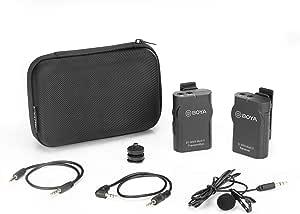 Boya By Wm4 Mark Ii Tragbares 2 4 G Kabelloses Kamera