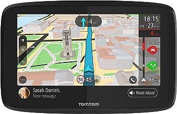 TomTom Go 620 Navigationsgerät (15,2 cm (6 Zoll) Updates über Wi-Fi, (Welt), Smartphone Benachrichtigungen, TomTom Traffic via Smartphone)