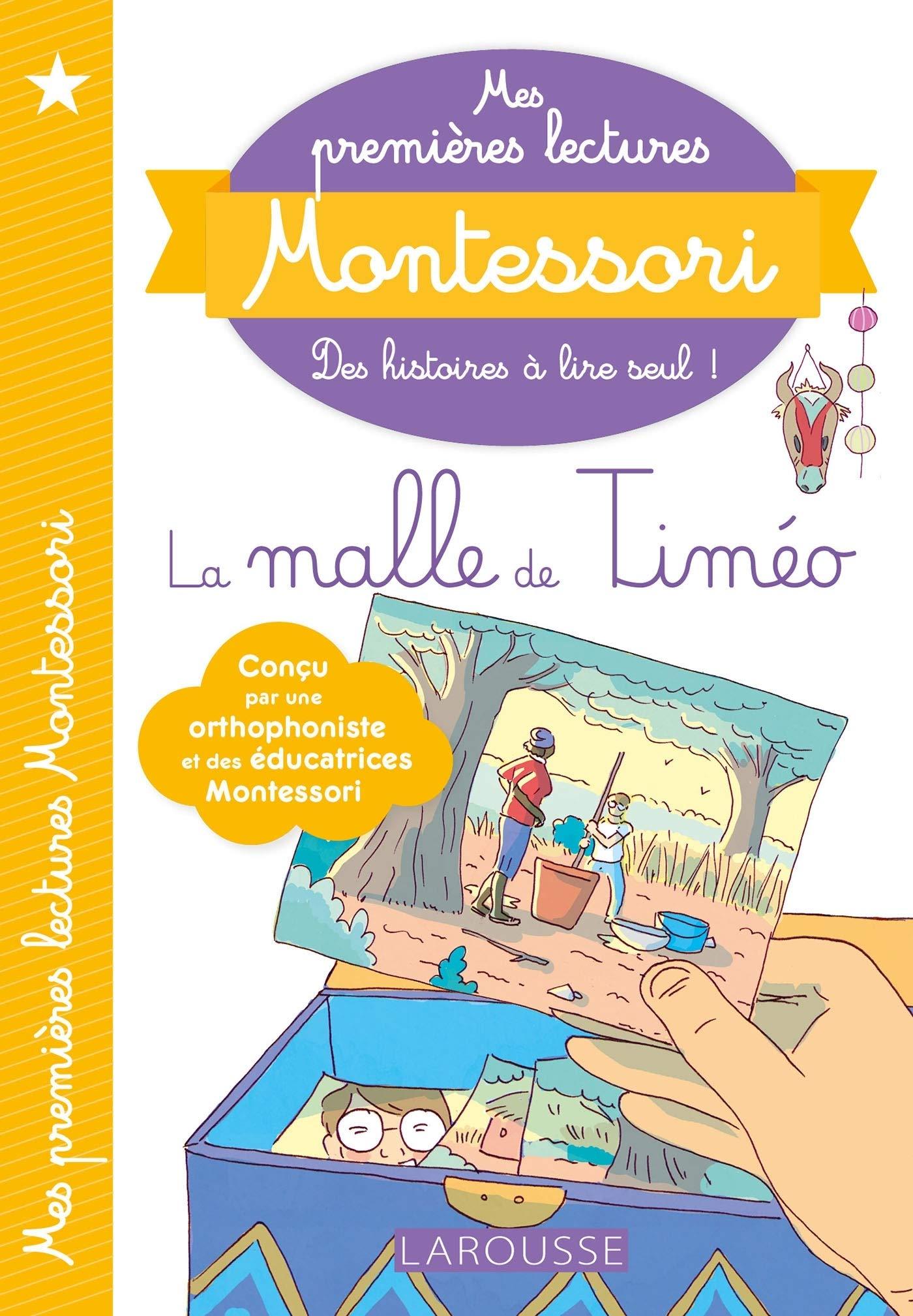 Mes premières lectures Montessori - La malle de Timéo por Anaïs Galon