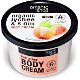 Organic Shop Pink Lychee e 5 oli crema corpo 250 ml