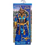 Disney Genie Fashion Doll in Human Form, Poseable Doll with Clothes and Accessories, Inspired By Disney's Aladdin Live-Action Movie, Toy for 3 Year Olds