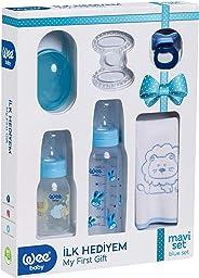Wee Baby 107 İlk Hediyem, Mavi Set
