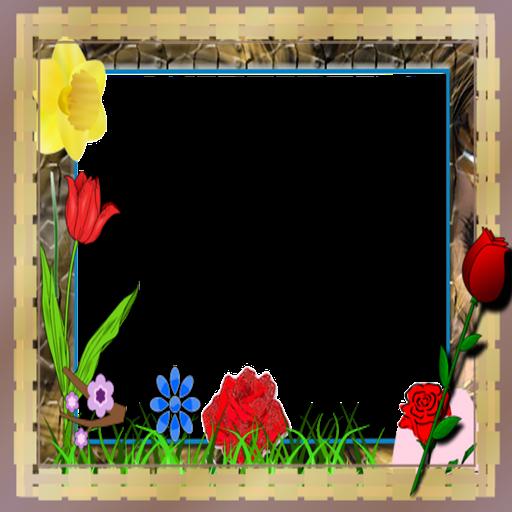corona-photo-flower-frames