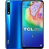"TCL 20 5G - Smartphone de 6.67"" FHD+ con NXTVISION (Qualcomm 690 5G, 6GB/128GB Ampliable MicroSD, Dual SIM, Cámaras 48MP+8MP+"