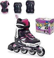 Rollerblade Inline Skates Combo G Kids Skates 36.5 Eu, Multi Color