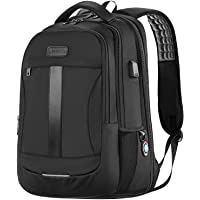 Laptop Backpack, Anti-Theft Business Travel Work Computer Rucksack with USB Charging Port, Large Lightweight College…