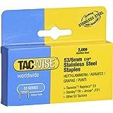 TACWISE 1268 53/6 mm roestvrijstalen nietjes, 2.000 stuks