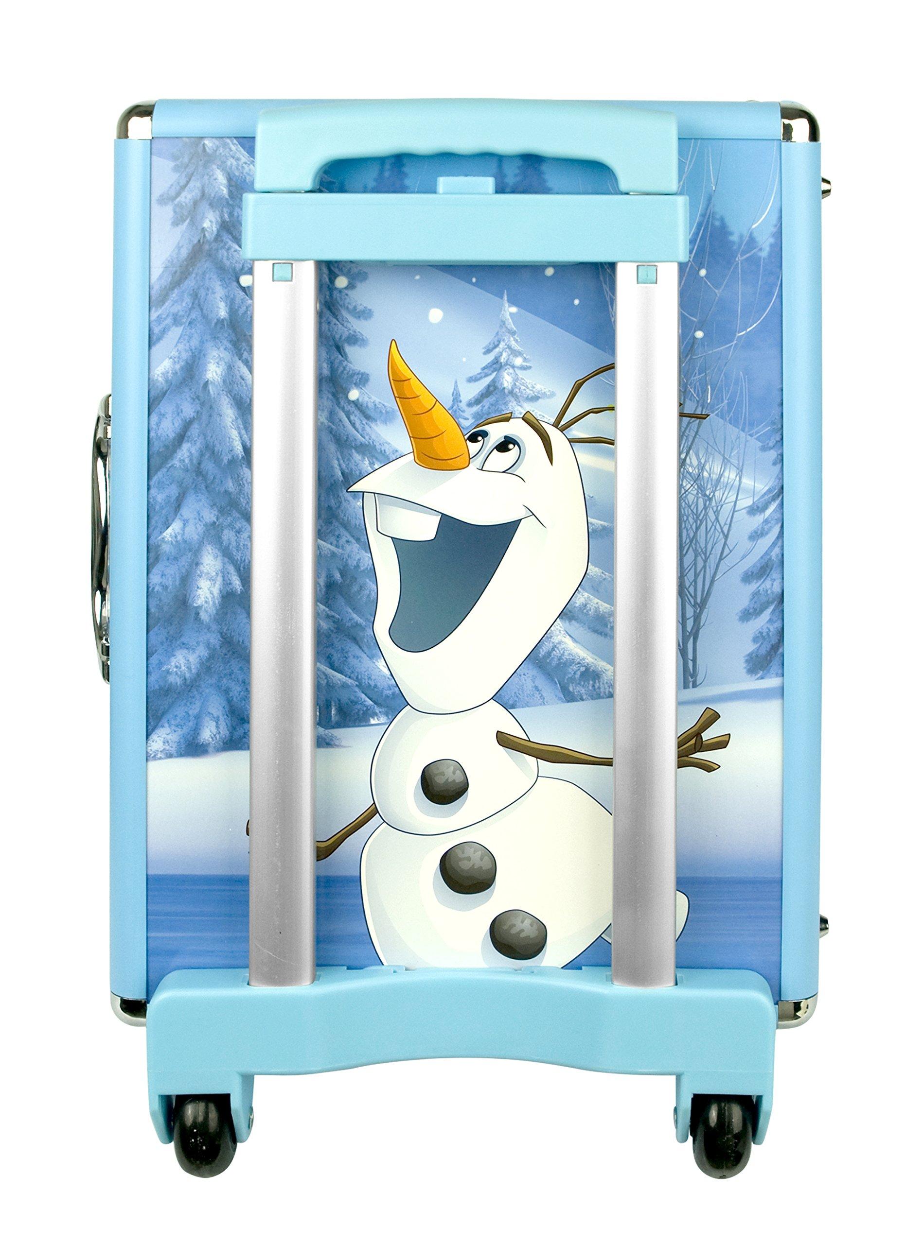 811 R 7WeSL - Disney Frozen - Icy Adventures Beauty Trolley, pack de maquillaje (Markwins 9607310)