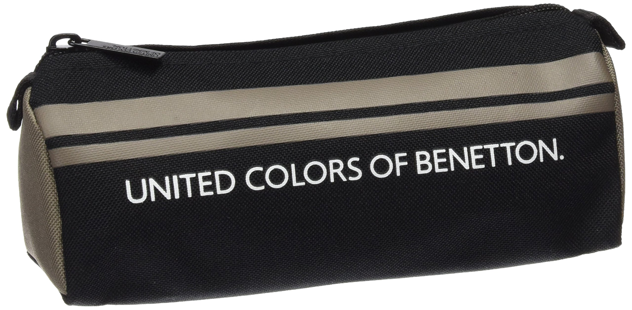 United Colors Of Benetton- Benetton Estuche portatodo Lleno 17 Piezas, Color Negro (SAFTA 811606708)