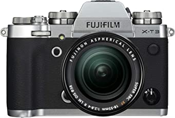 Lifestyles Fujifilm X-T3 Mirrorless Digital Camera with 18-55mm Lens kit with Memory Card and Bag