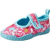 Playshoes Calzature da Mare con Protezione UV Fenicottero, Scarpe da Acqua Unisex-Bambini