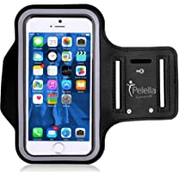 """PELELLA Portacellulare porta cellulare I-phone per correre Universale 6.5"""" per Samsung con Cinturino fascia da braccio…"""