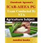 ICAR-AIEEA PG-Exam Conducted By NTA: Agriculture Subject Practice Sets (Agriculture For Competitive Exams Book 16)