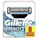 Gillette Mach 3Start Ersatz Rasierhobel–8Stück