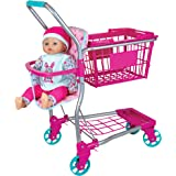 """Shopping Cart with 16"""" baby doll"""