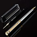 Silver Chrome Mechanical Pencil Scriveiner - Stunning Design, 24K Gold Finish, Schmidt 0.7mm Mechanism, Spare Leads, Best Lux