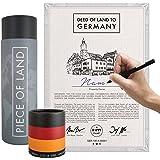 happylandgifts® Edition 2020 - Echtes Grundstück in Deutschland als einzigartiges Geschenk für Liebhaber der Bundesrepublik |