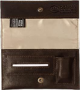 Pellein - Portatabacco in vera pelle Slough - Astuccio porta tabacco, porta filtri, porta cartine e porta accendino. Handmade in Italy