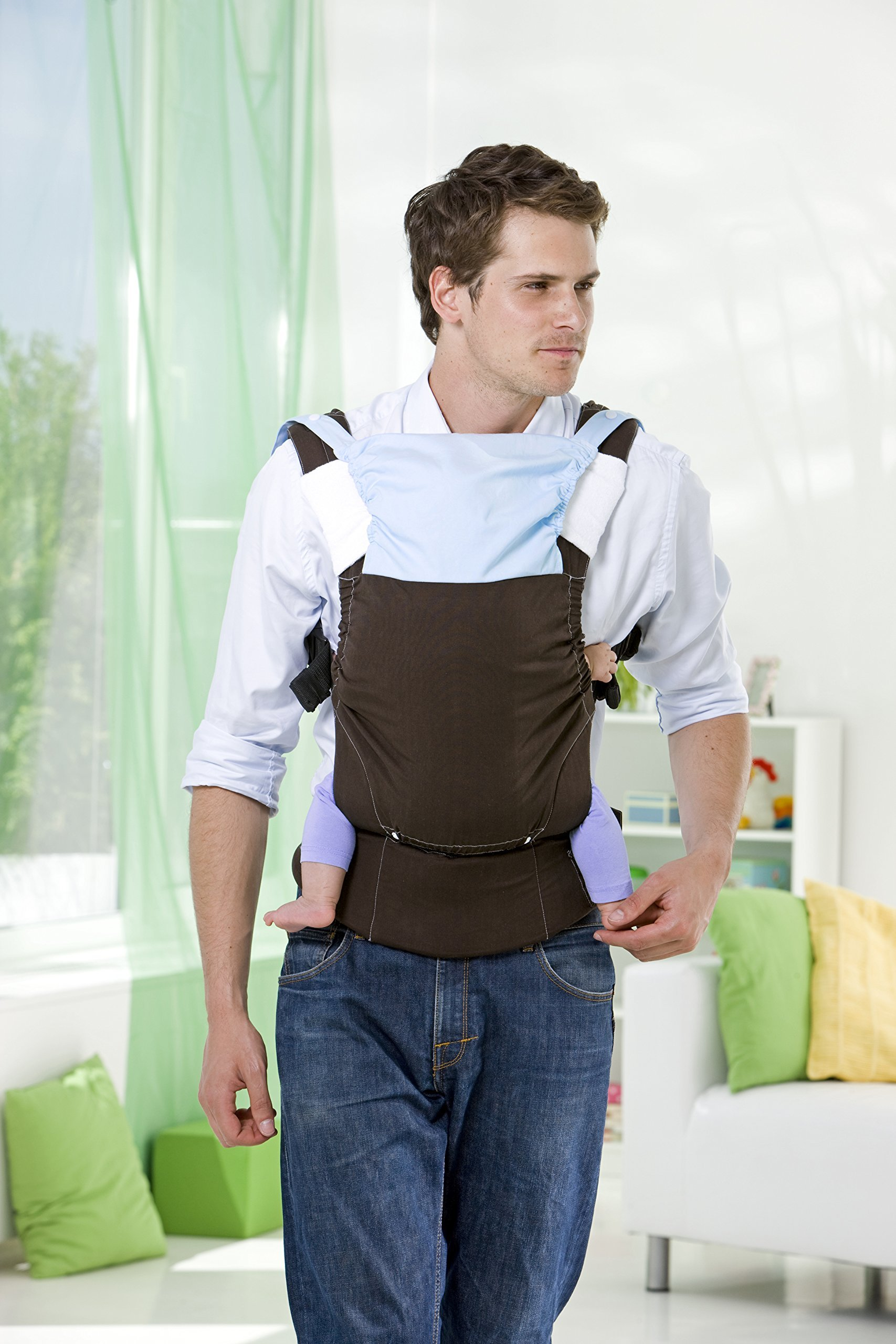 Amazonas Baby Smart Carrier - Earth AMAZONAS Waist belt length: 78 - 145 cm Flexible bridge: approx. 26 - 33 cm Load capacity: max. 3.5 - 15 kg 8