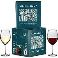 Bag in Box vino Sauvignon 5L + Bag in Box vino Cabernet 5L - Vigne di Giulia