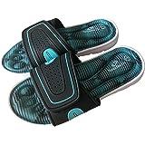 Memory Foam Slippers for Ladies Padded Comfort Open Toe Summer Slippers Sliders Flip Flop Slip-ons Women UK Sizes 3 4 5 6 7