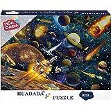 HUADADA Puzzle 1000 Pièces Adultes, Puzzles de Système Solaire Convient aux Adolescents Adultes Puzzle Enfant Espace