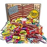 Americano Caramella Dolci americani Scatola Per Feste. 120 pezzi! Caramelle americane classiche Airheads, Laffy-Taffy…