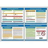 Affichage obligatoire - Code du travail - plastifié et effaçable - édition 2021