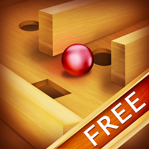 Tilt Wood Labyrinth : hermano hermana juego puzzle
