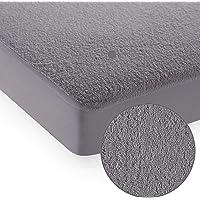 Cloth Fusion Polyester Mattress Protector (Single_Grey)