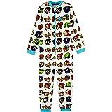 Teen Titans Go! Pijama Niño de Una Pieza, Pijamas Enteros de Superheroes, Merchandising Oficial Regalos Originales para Niños