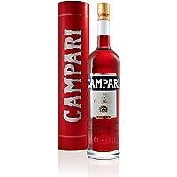 Campari Bitter, Aperitivo Alcolico da Infuso a Base di Erbe Amare, Piante Aromatiche e Frutta, 25% Vol, Bottiglia Magnum…