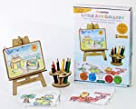 Funvention- for Little Scientist in Every Kid Wooden Puzzle and Colouring Art Kit and DIY Craft Stem Learning Toys
