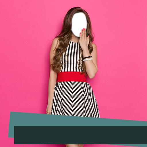 Summer Dress Fotoeditor (Hut Träger)