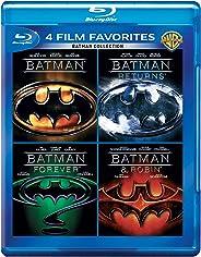 Batman Anthology: 4 Movies Collection - Batman (1989) + Batman Returns + Batman Forever + Batman & Robin (4-Disc Box Set)