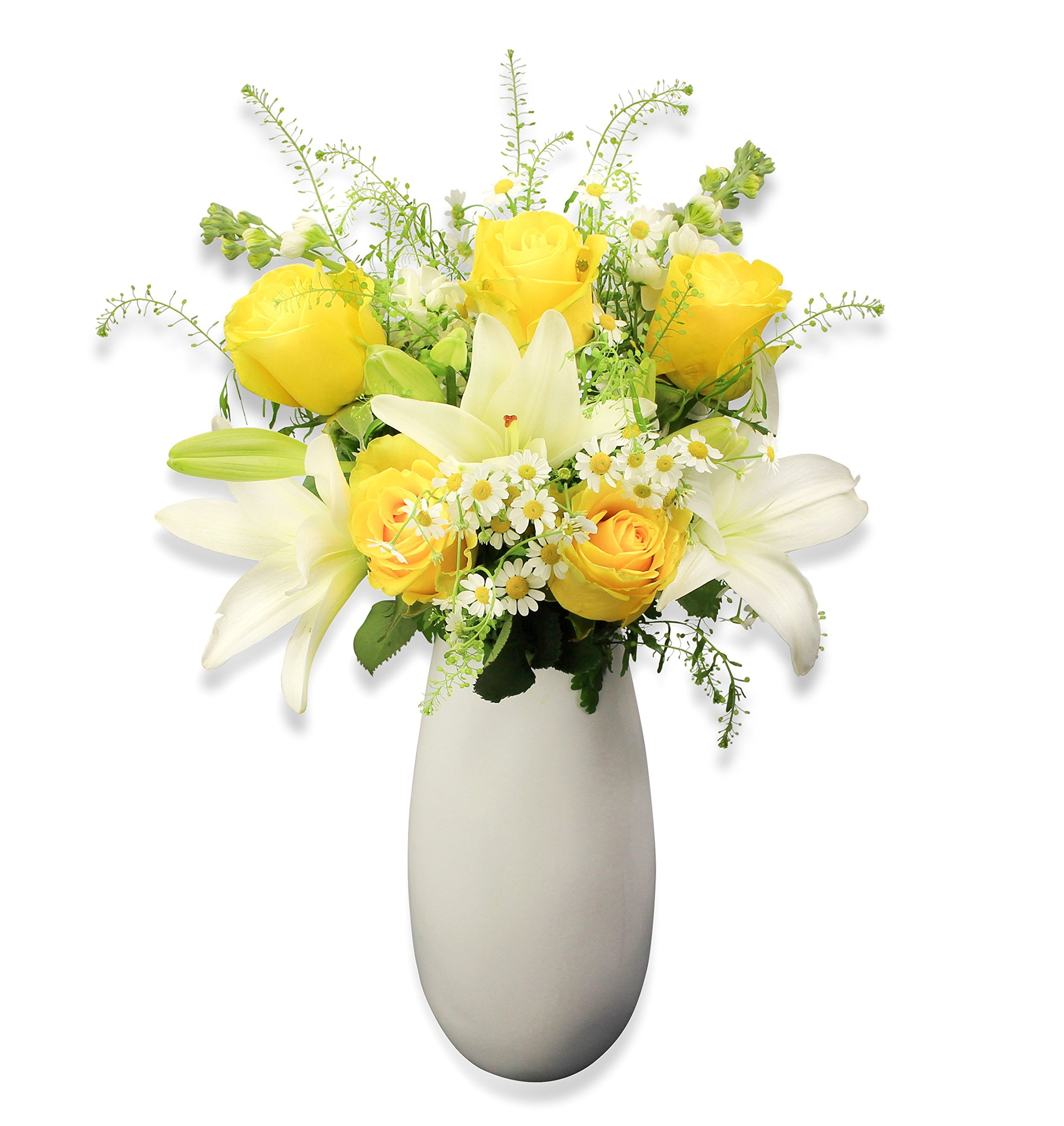 Fresh Flower Delivery FREE Handwritten Greeting Card Send Premium Flowers Beautifully Wrapped Delivered By Post Uplifting Bouquet Perfect