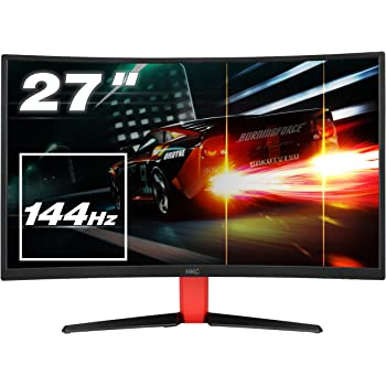 HKC G27 - NB27C2, 27 Zoll LED Gaming Monitor, Curved