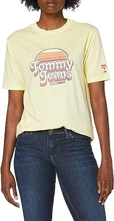 Tommy Hilfiger Tjw Summer Retro Logo Tee Camicia Donna
