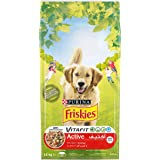Purina Friskies Active Dog Food with Beef 10Kg