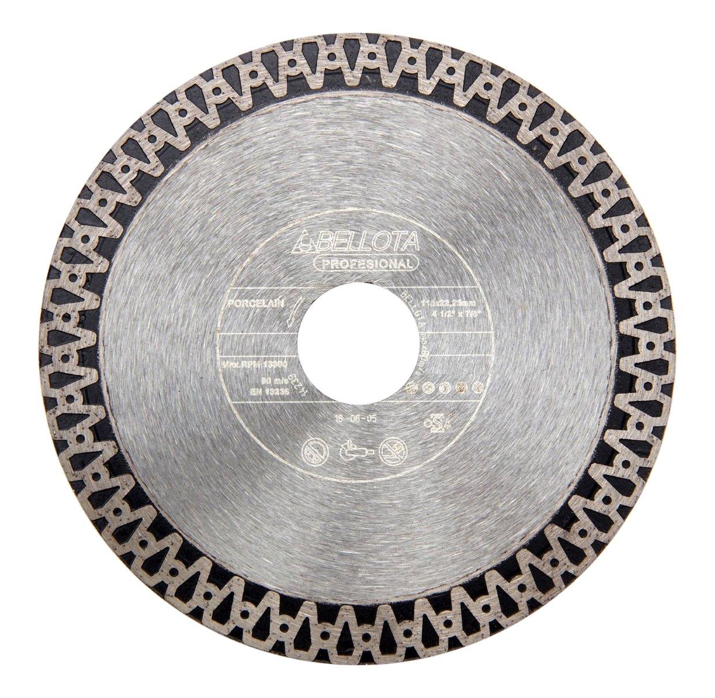 Bellota 50734S125 Disco de diamante fino para corte porcelánico
