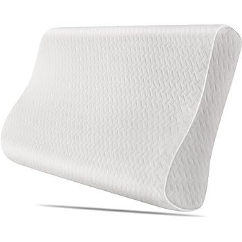 homfa oreiller memoire de forme oreiller ergonomique contour orthop dique oreiller anti acariens. Black Bedroom Furniture Sets. Home Design Ideas
