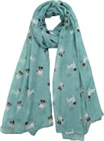 Claudia & Jason New Ladies Jack Russell Terrier Dogs Dog Oversized Scarf, lots of colour's