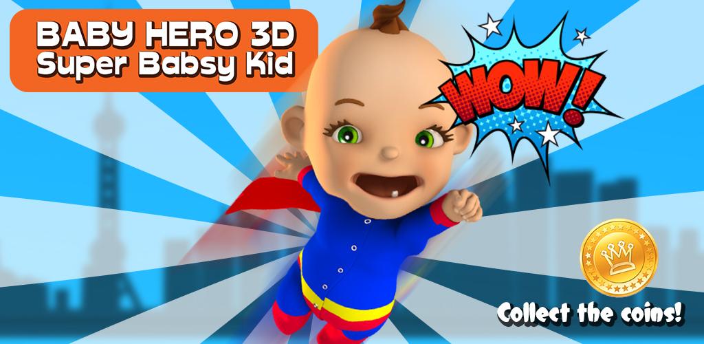 Zoom IMG-1 baby hero 3d super babsy