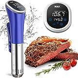 Cuiseur Sous Vide,850W, IPX7 Imperméable à l'eau,Thermoplongeur Cuiseur Sous Vide, Thermostat Réglable pour un Contrôle Préci