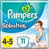 Pampers Splashers Storlek 4-5, 9-15kg, Badblöja 11 st