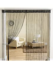 Exporthub Beautiful White Color Threads String Curtain