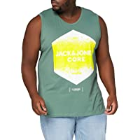 JACK & JONES Jcosplatter Tank Top Fst PS T-Shirt Uomo