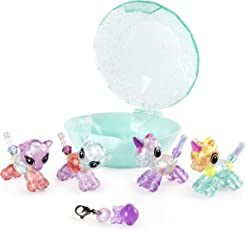 Twisty Petz Babies 4-Pack Kitties and Unicorns Collectible Bracelet Set for Kids